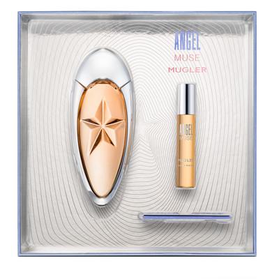 Thierry Mugler Angel Muse, parfémovaná voda 50ml + parfémovaná voda 9ml, Dárková sada