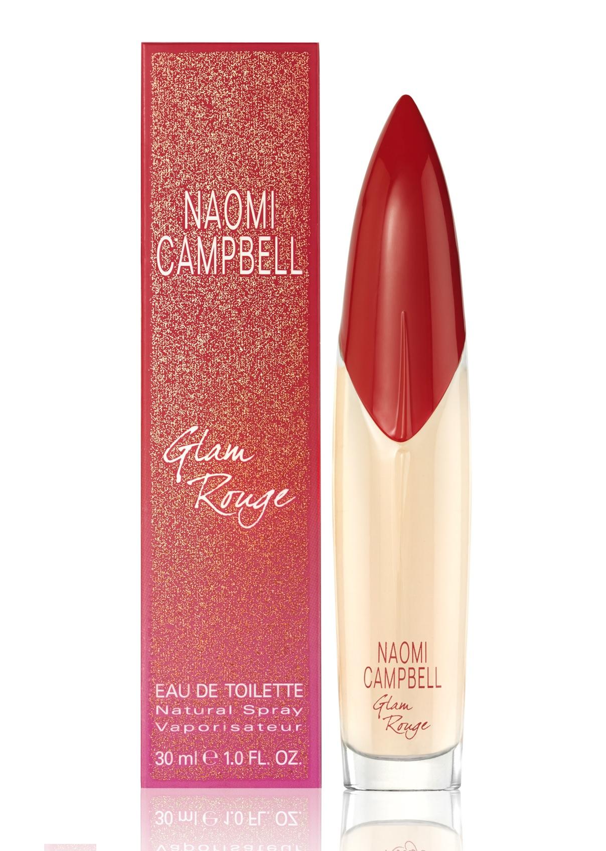 Naomi Campbell Glam Rouge, 30ml, Toaletní voda