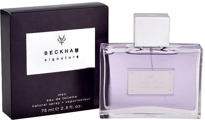 David Beckham Signature for Him, Toaletní voda, 75ml, Pánska vôňa