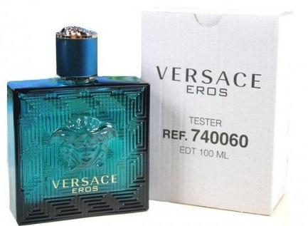 Versace Eros - s víčkem, Toaletní voda - Tester, 100ml, Pánska vôňa
