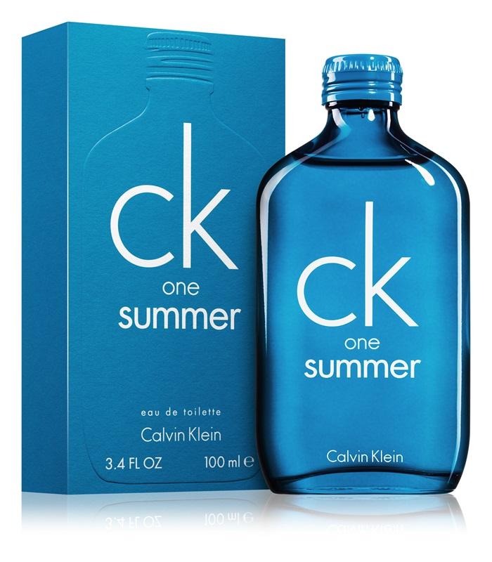 Calvin Klein CK One Summer 2018, Toaletní voda, 100ml, Unisex vôňa