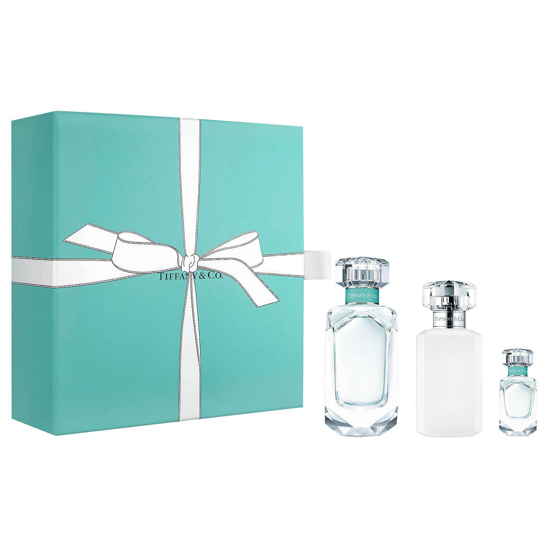 Tiffany & Co. Tiffany, Dárková sada, parfémovaná voda 50ml + parfémovaná voda 5ml + tělové mléko 100ml, Dámska vôňa