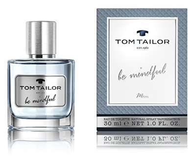Tom Tailor Be Mindful Man, 30ml, Toaletní voda