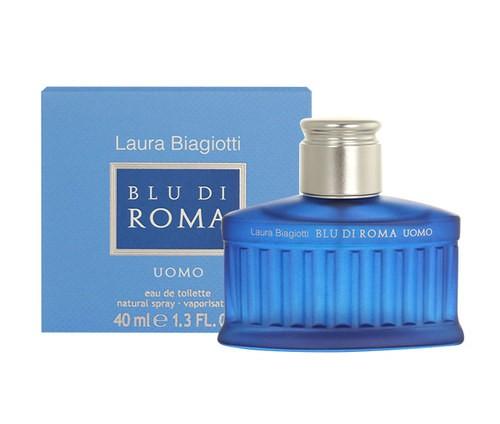 Laura Biagiotti Blu di Roma Uomo, 40ml, Toaletní voda