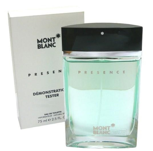 Mont Blanc Presence Man, 75ml, Toaletní voda - Tester