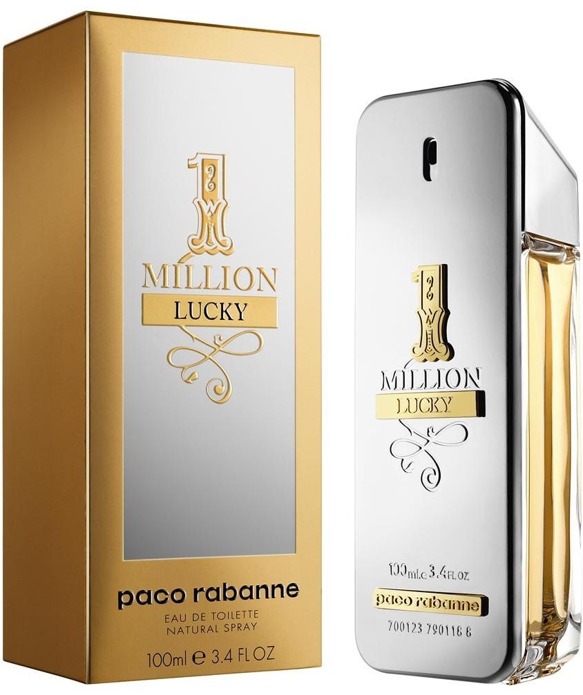 Paco Rabanne 1 Million Lucky, Toaletní voda, 100ml, Pánska vôňa