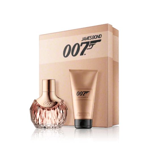 James Bond 007 for Women ll, parfémovaná voda 30ml + tělové mléko 50ml, Dárková sada
