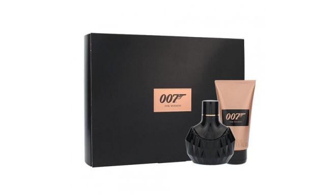 James Bond 007 Woman, Dárková sada, Pro ženy, parfémovaná voda 30ml + sprchový gel 50ml