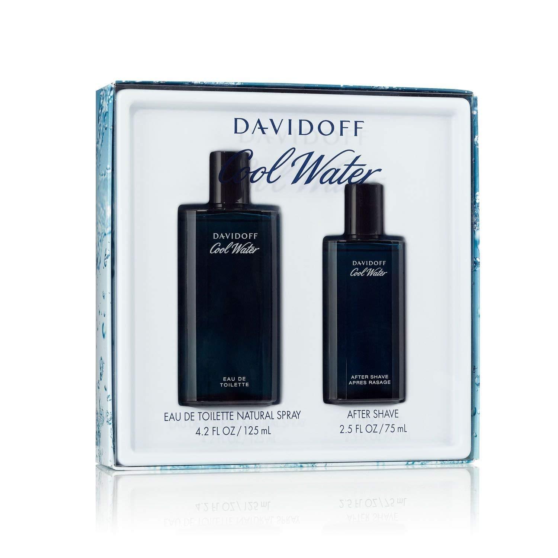 Davidoff Cool Water Man, Dárková sada, toaletní voda 125ml + voda po holení 75ml, Pánska vôňa