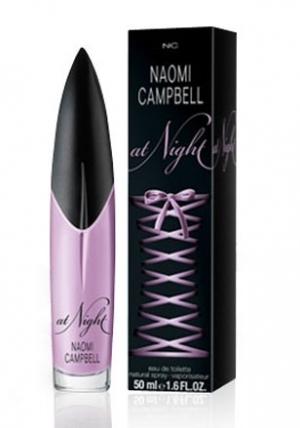 Naomi Campbell At Night, toaletní voda 15ml + sprchový gel 50ml, Dárková sada