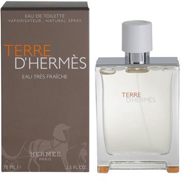 Hermes Terre D´Hermes Eau Tres Fraiche, 75ml, Toaletní voda