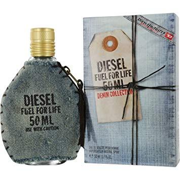 Diesel Fuel for Life Denim Homme, Toaletní voda, Pánská vůně, 50ml