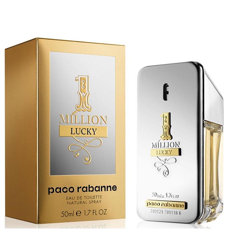Paco Rabanne 1 Million Lucky, 50ml, Toaletní voda
