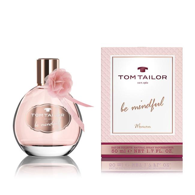 Tom Tailor Be Mindful Woman, Toaletní voda, Dámska vôňa, 50ml