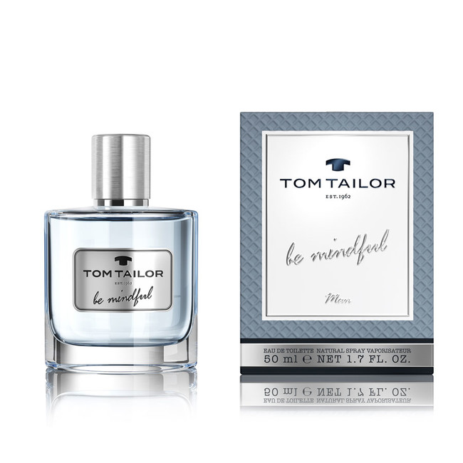 Tom Tailor Be Mindful Man, 50ml, Toaletní voda