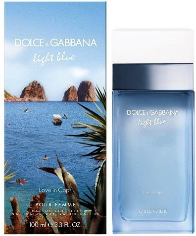Dolce & Gabbana Light Blue Love In Capri, 100ml, Toaletní voda