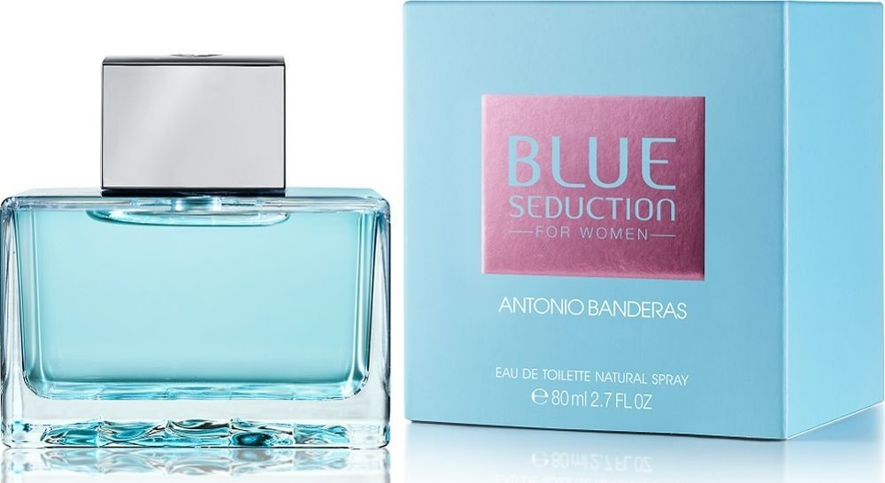 Antonio Banderas Blue Seduction for Woman, 80ml, Toaletní voda