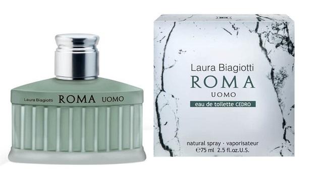 Laura Biagiotti Roma Uomo Cedro, 75ml, Toaletní voda
