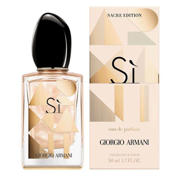Giorgio Armani Si Nacre Edition 2018, 50ml, Parfémovaná voda