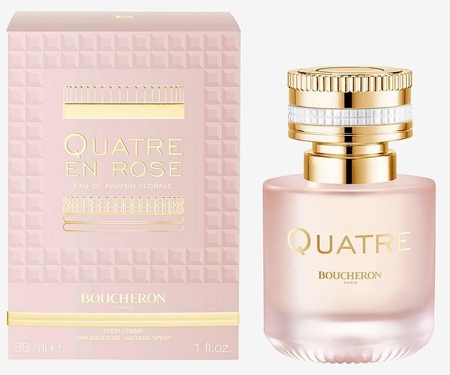 Boucheron Quatre En Rose Florale, 30ml, Parfémovaná voda