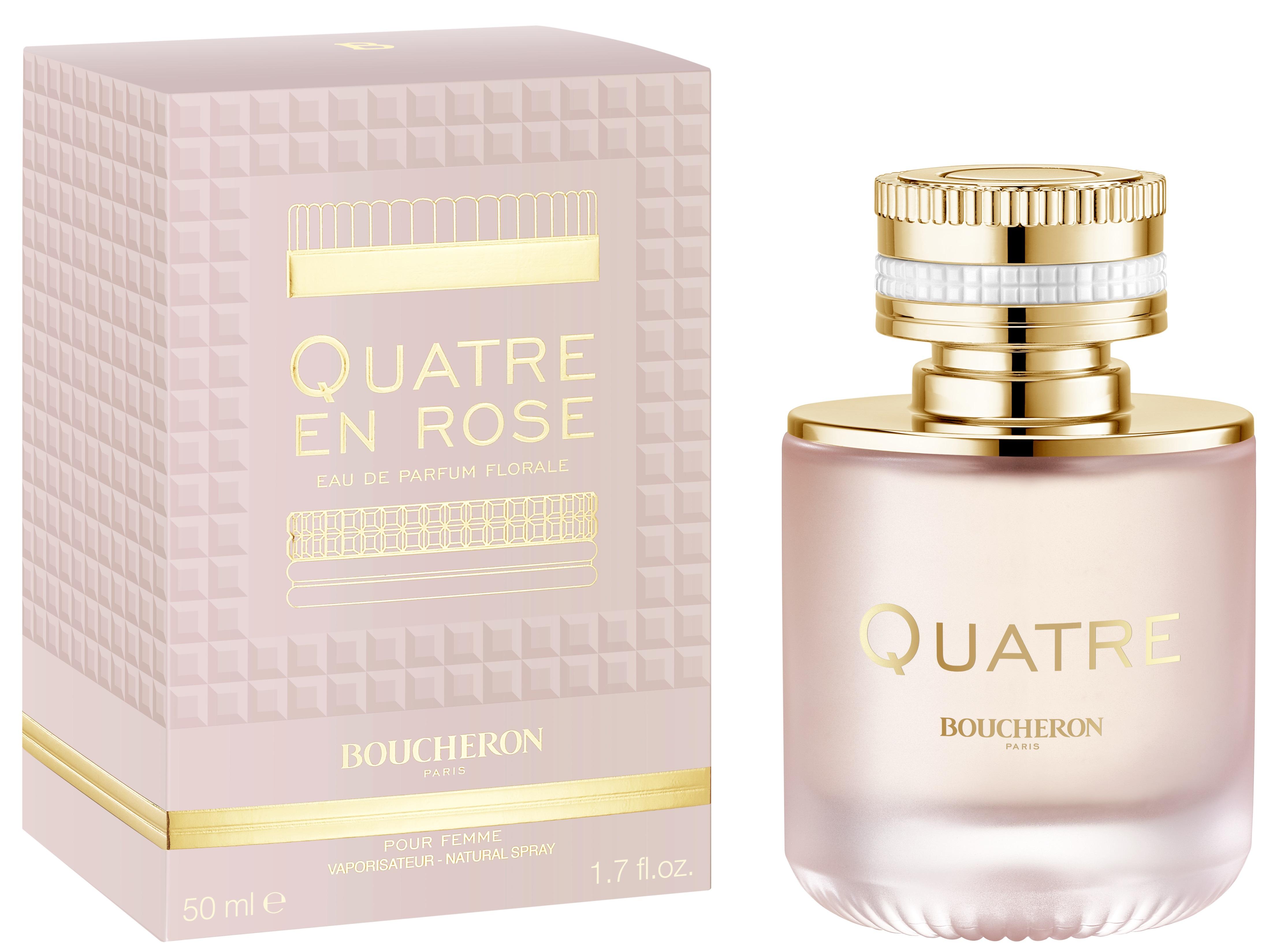 Boucheron Quatre En Rose Florale, 50ml, Parfémovaná voda