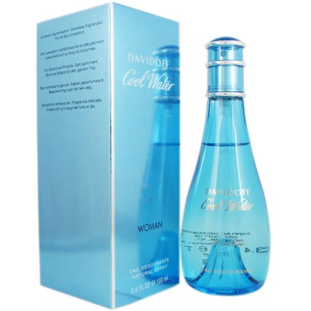 Davidoff Cool Water Woman, 100ml, Deodorant