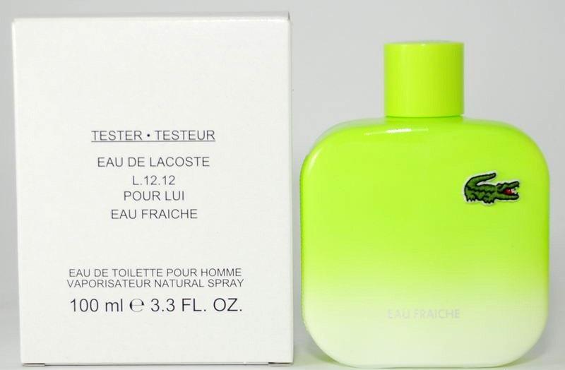 Lacoste Eau de Lacoste L.12.12 Eau Fraiche, 100ml, Toaletní voda - Tester