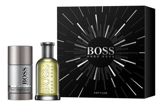 Hugo Boss No.6 Bottled, Dárková sada, Pánska vôňa, toaletní voda 50ml + deostick 75ml