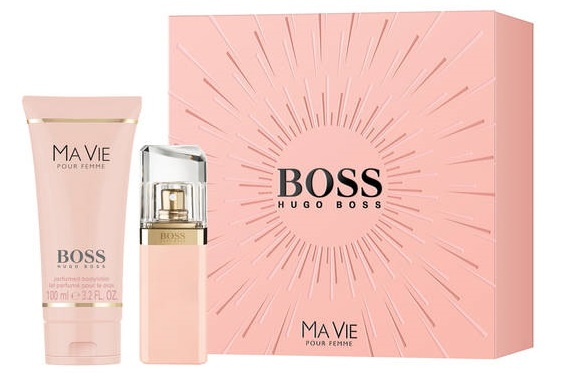Hugo Boss Ma Vie Pour Femme, parfémovaná voda 30ml + tělové mléko 100ml, Dárková sada