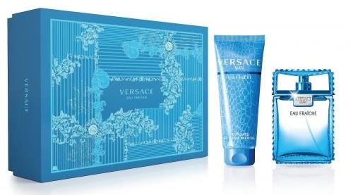 Versace Man Eau Fraiche, Dárková sada, Pánska vôňa, toaletní voda 100ml + sprchový gel 150ml