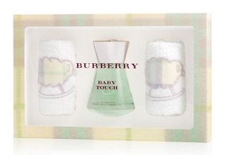 Burberry Baby Touch, Dárková sada, Dámska vôňa, toaletní voda 100ml (bez alkoholu) + tělové mléko 100ml + sprchový gel 100ml
