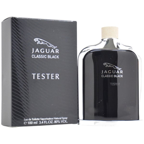 Jaguar Classic Black, 100ml, Toaletní voda - Tester