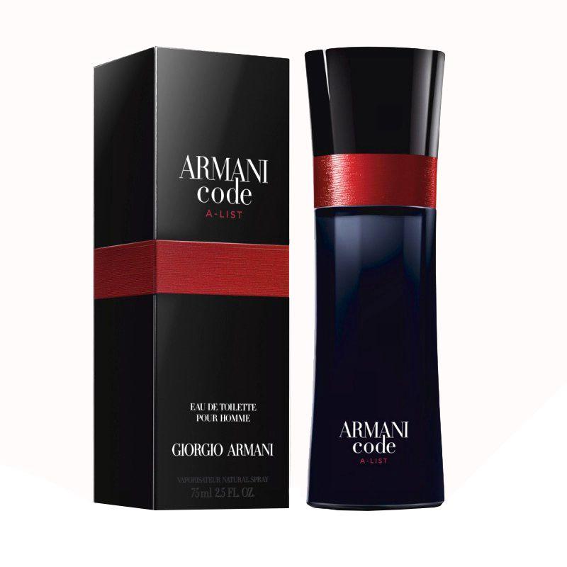 Giorgio Armani Code A-List, 75ml, Toaletní voda