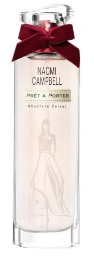 Naomi Campbell Prét a Porter Absolute Velvet, 50ml, Toaletní voda - Tester