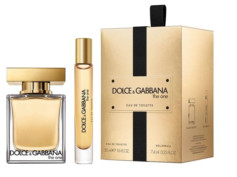 Dolce & Gabbana The One, toaletní voda 50ml + toaletní voda 7.4ml, Dárková sada