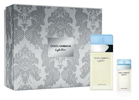 Dolce & Gabbana Light Blue, toaletní voda 100ml + toaletní voda 25ml, Dárková sada
