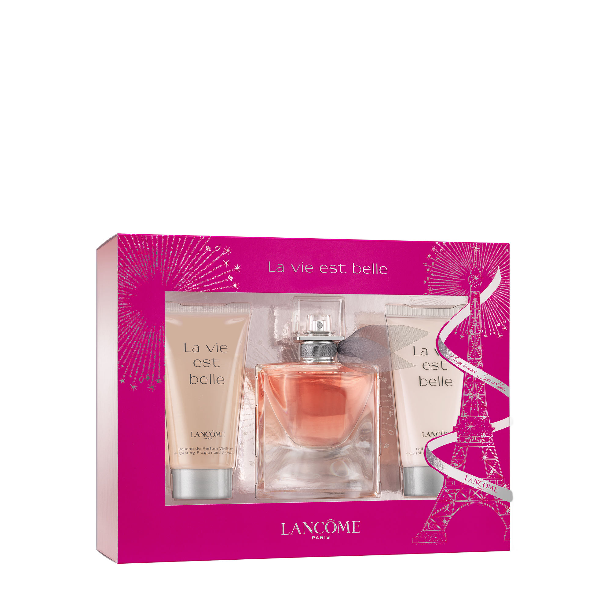 Lancome La Vie Est Belle, parfémovaná voda 30ml + telové mlieko 50ml + sprchový gel 50ml, Dárko
