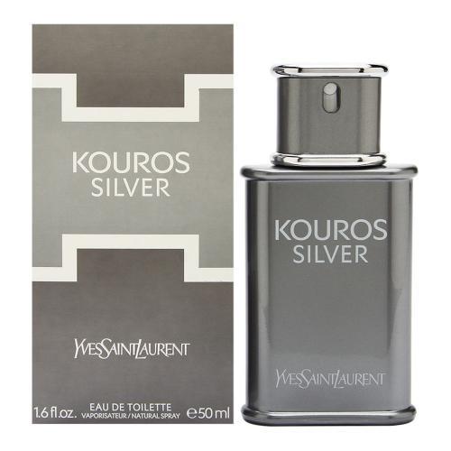Yves Saint Laurent Kouros Silver, 50ml, Toaletní voda