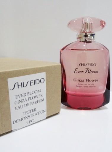 Shiseido Ever Bloom Ginza Flower, 50ml, Parfémovaná voda - Tester