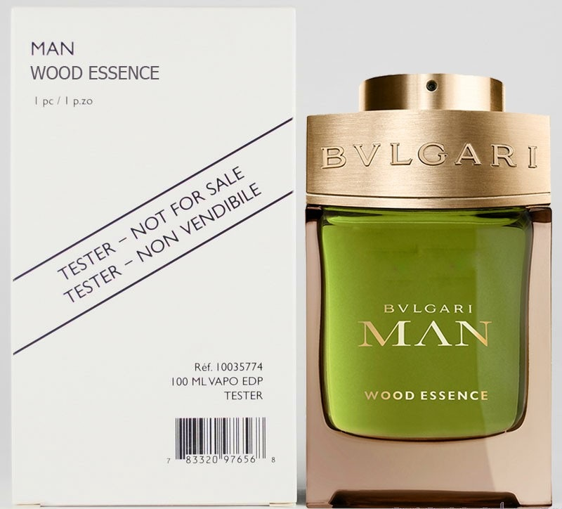 Bvlgari Man Wood Essence, 100ml, Parfémovaná voda - Tester
