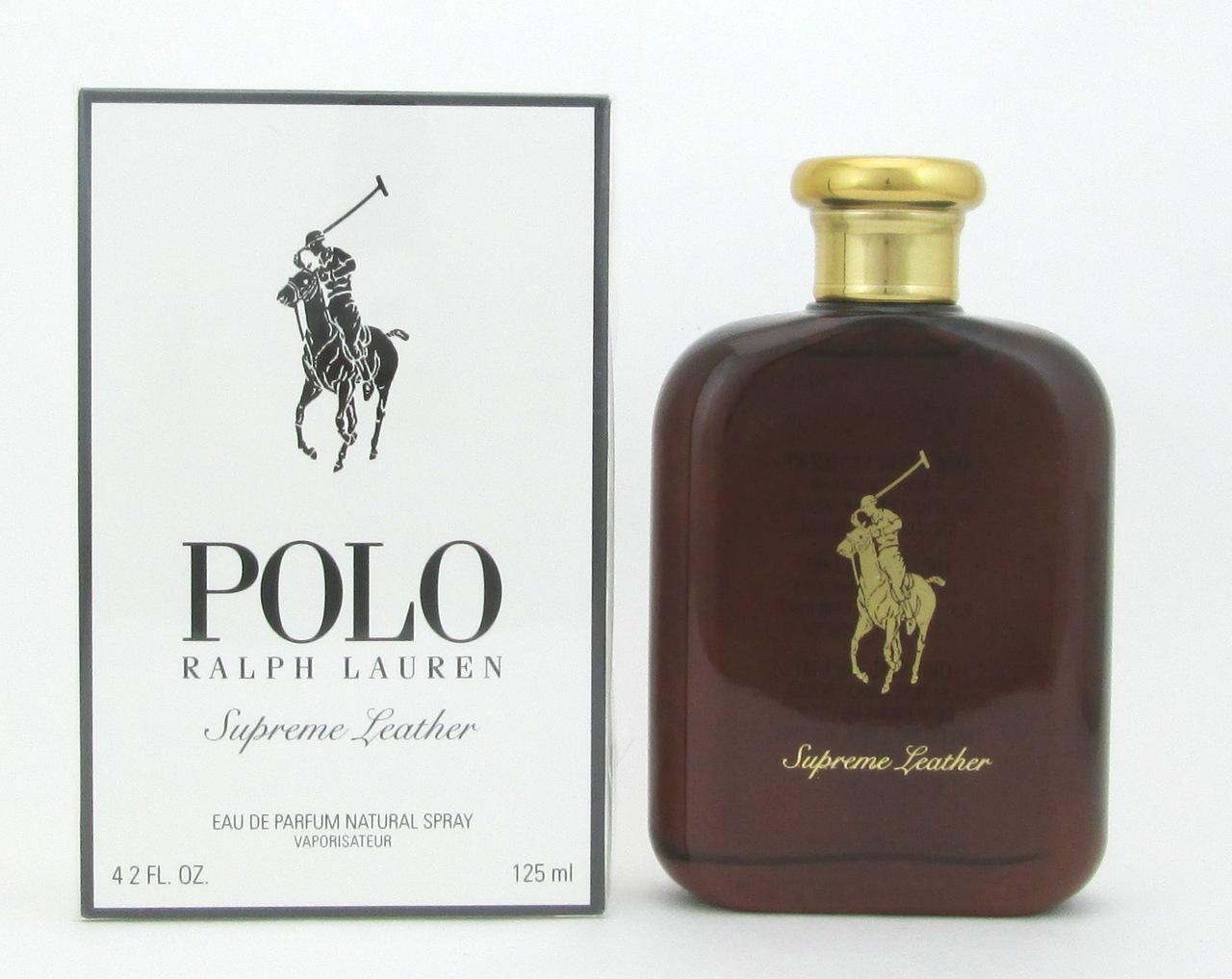 Ralph Lauren Polo Supreme Leather, 125ml, Parfémovaná voda - Tester