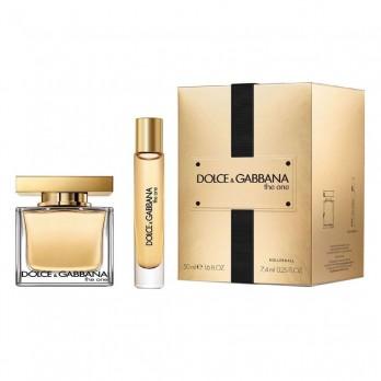 Dolce & Gabbana The One, parfémovaná voda 50ml + parfémovaná voda 10ml, Dárková sada