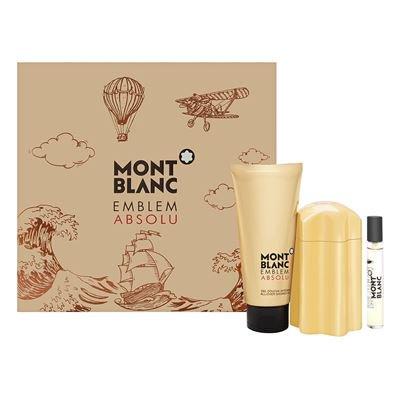Mont Blanc Emblem Absolu, toaletní voda 100ml + toaletní voda 7.5ml + sprchový gel 100ml, Dárková sada