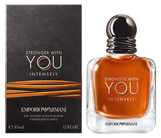 Giorgio Armani Emporio Stronger With You Intensely, 50ml, Parfémovaná voda