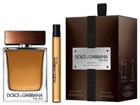 Dolce & Gabbana The One for Men, toaletní voda 100ml + toaletní voda 10ml (Travel set), Dárková sada