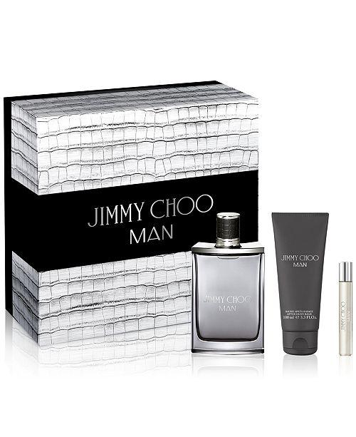 Jimmy Choo Jimmy Choo Man, toaletní voda 100ml + toaletní voda 7.5ml + balzám po holení 100ml, Dárková sada