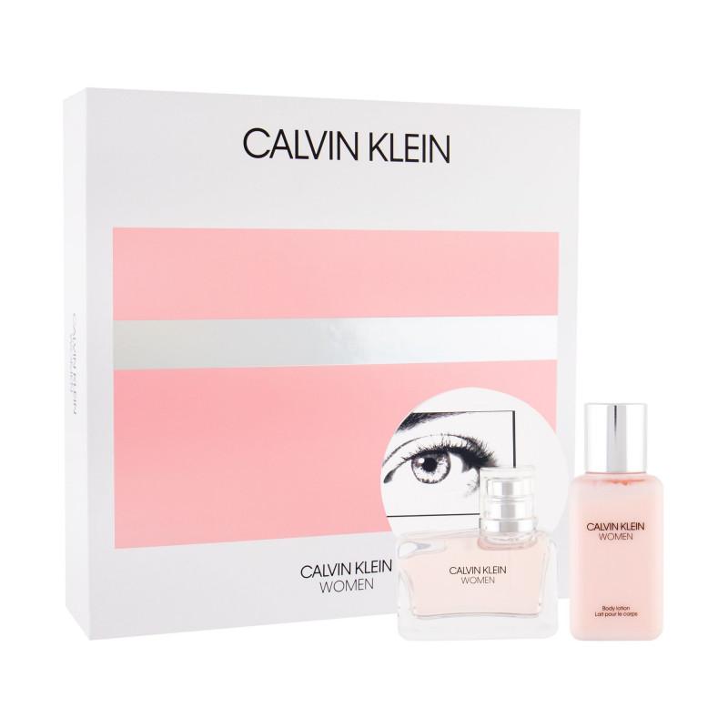 Calvin Klein Women, parfémovaná voda 50ml + tělové mléko 100ml, Dárková sada