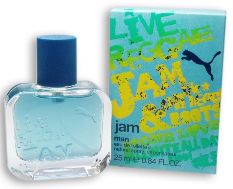 Puma Jam Man, Toaletní voda, 25ml, Pánska vôňa