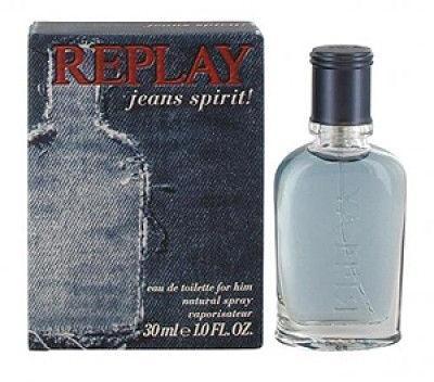 Replay Jeans Spirit! for Him, Toaletní voda, Pánska vôňa, 30ml