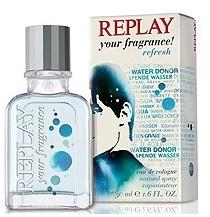 Replay Your Fragrance Refresh Men, 50ml, Kolínská voda